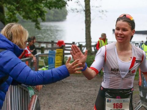 Triathlon events in the Lake District